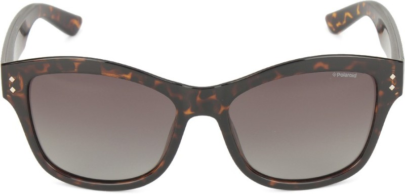 Polaroid Wayfarer Sunglasses(Brown)