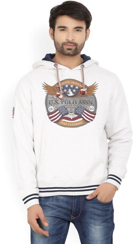 U.S. Polo Assn Full Sleeve Printed Mens Sweatshirt