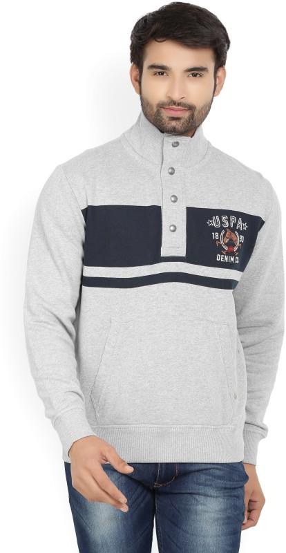 U.S. Polo Assn Full Sleeve Printed Men's Sweatshirt