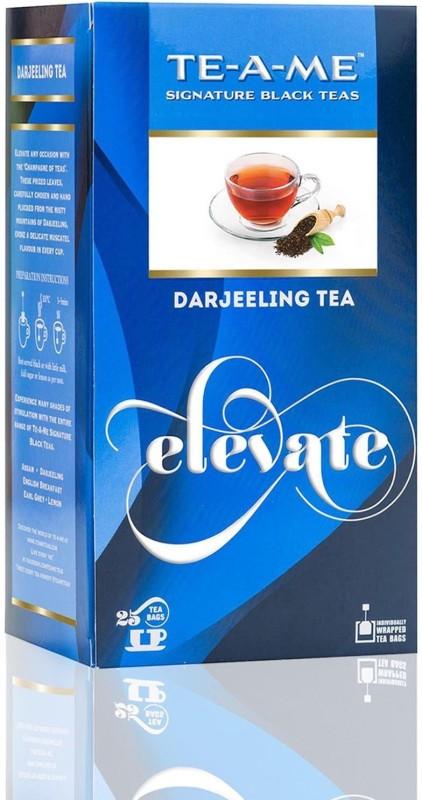TE-A-ME Darjeeling Tea Pack Unflavoured Green Tea Bags(25 Bags, Box)