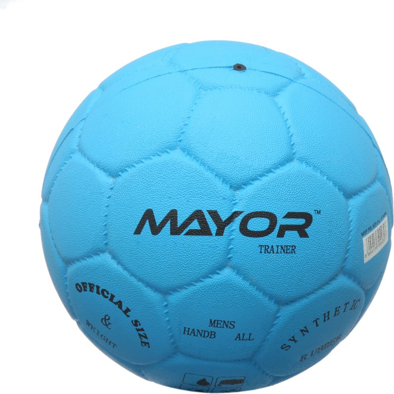 Mayor Trainer Handball(Pack of 1, Blue)