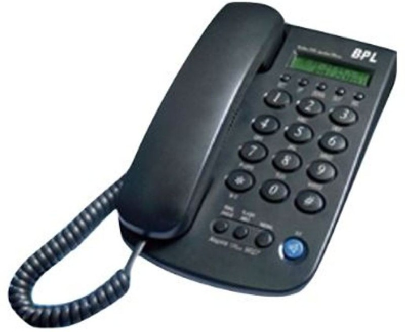 BPL 9027 Corded Landline Phone(Dark Grey)