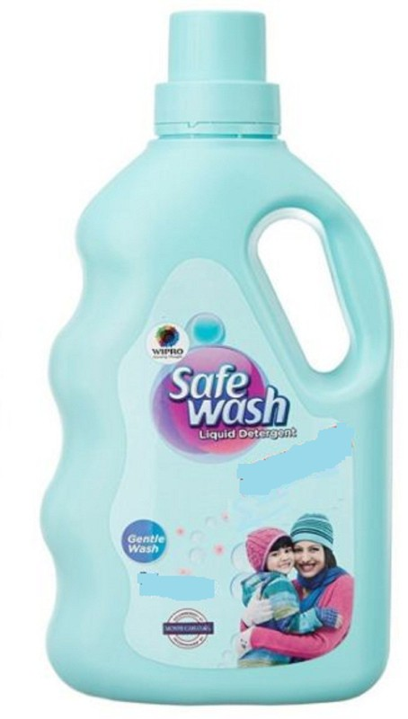 Wipro Safewash Fragrance-Free Liquid Detergent(1000 ml)