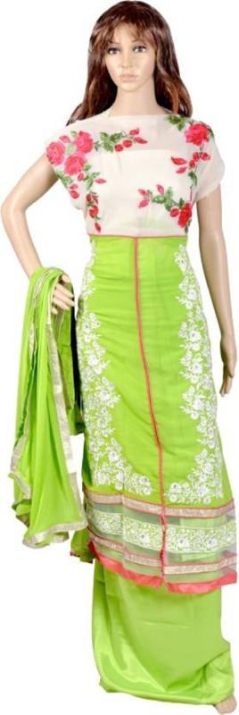 AG FASHIONS Embroidered Kurta & Salwar(Stitched)