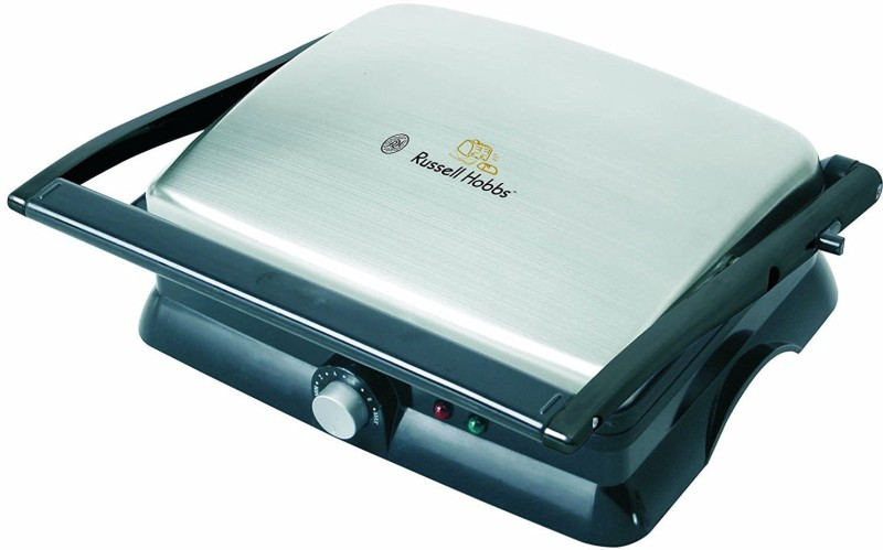 Russell Hobbs RST200CG Open Grill(Black & Steel)