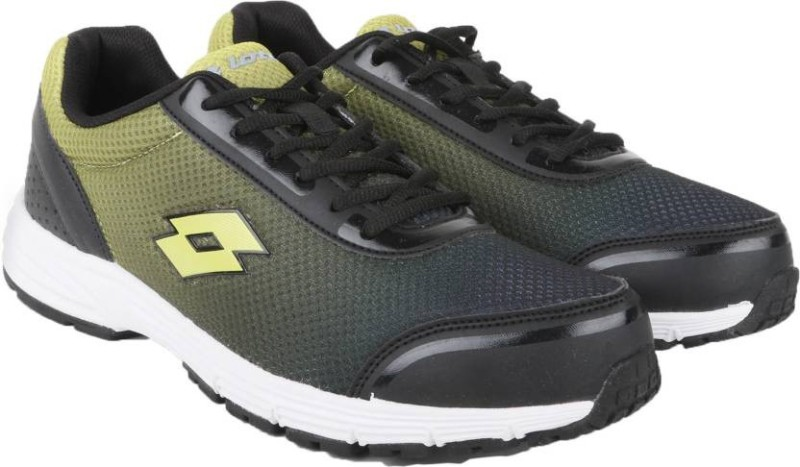 Lotto LOTTO CROSS Running Shoes For Men(Black)