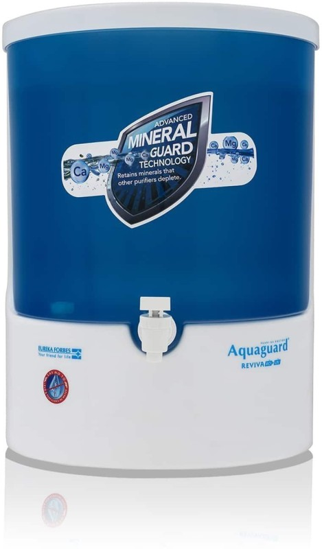 Aquaguard Reviva 5 L UV Water Purifier(White, Blue)