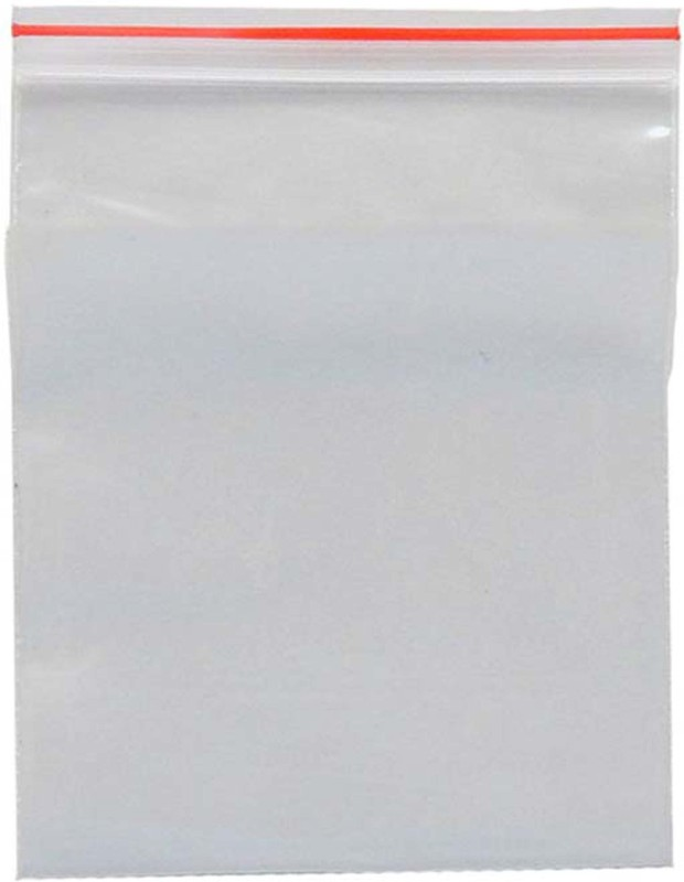 Elph Resealable Plastic Air Tight Pouch(Clear Pack of 25)