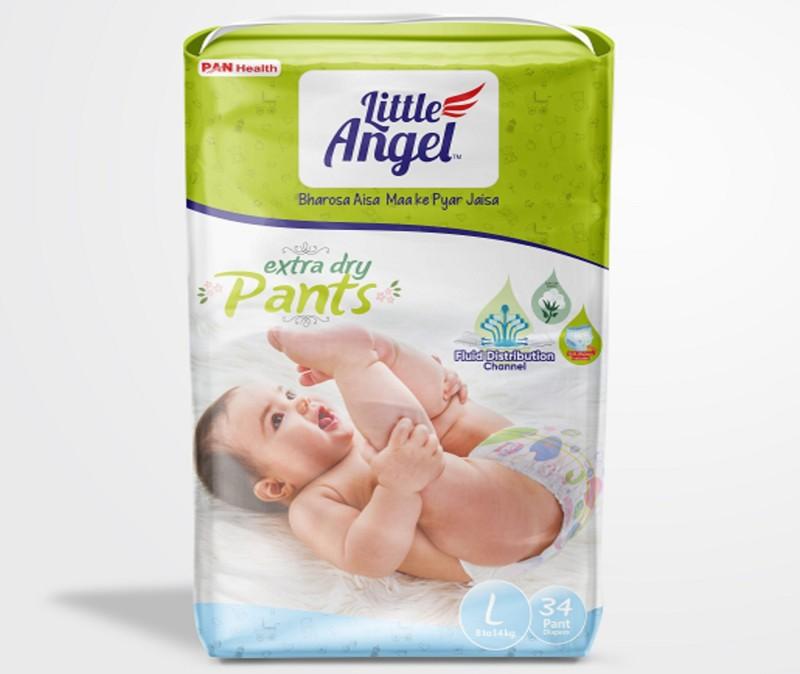 Little Angel Little Angel Extra Dry Pants - L(34 Pieces)