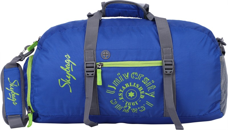 Skybags (Expandable) Fitness Travel Travel Duffel Bag(Blue)