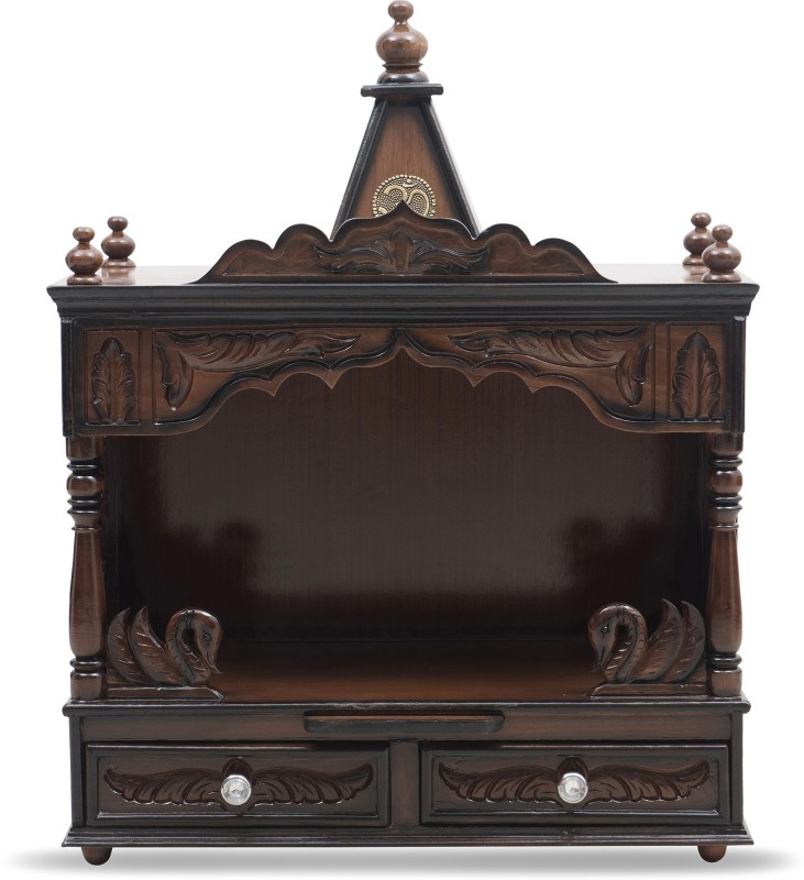 DZYN Furnitures Solid Wood Home Temple(Height: 79 cm)