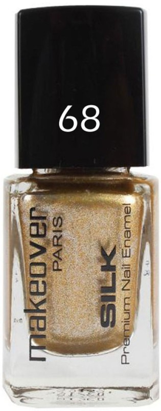 Makeover Professional Nail Paint Sparking Golden-9ml Golden-(9 ml)