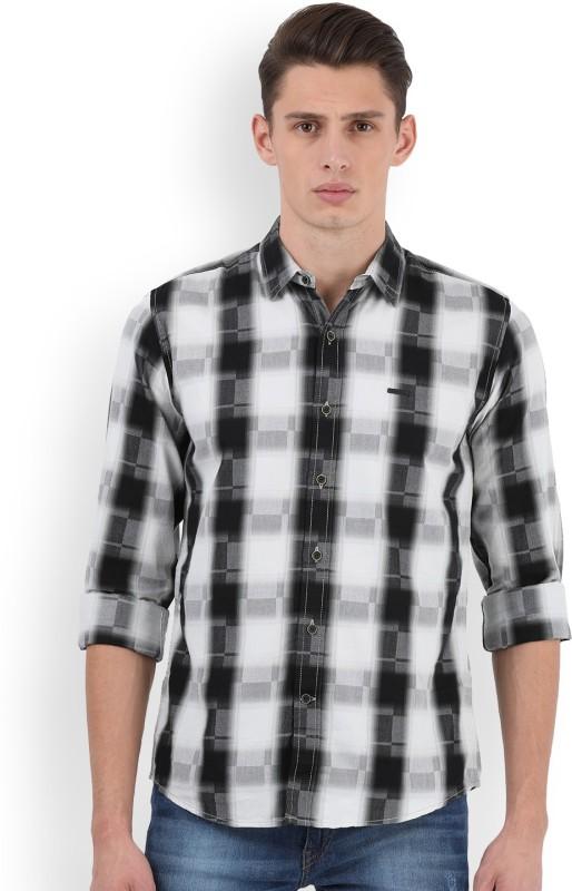 Wrangler Mens Checkered Casual Shirt
