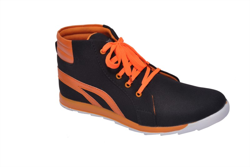 Rimoni Boots(Black, Orange)