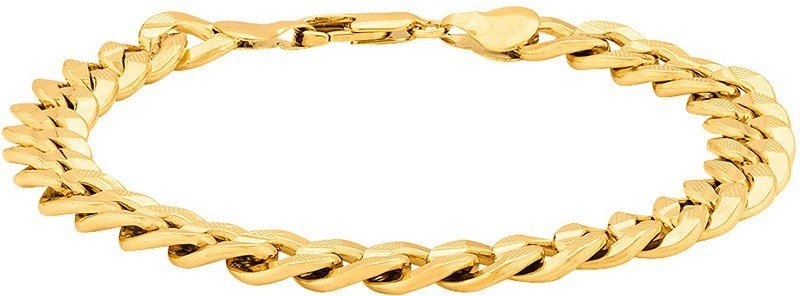 Voylla Stainless Steel Gold-plated Bracelet