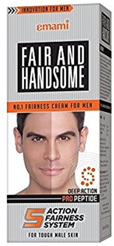 emami Fair and Handsome Fairness Cream, 60g(60 ml)