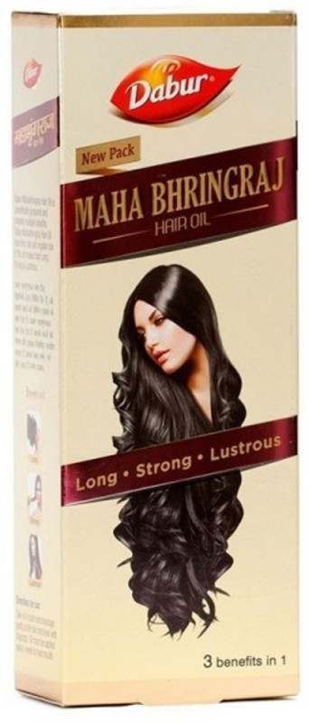Dabur Maha Bhringaraj Hair Oil 200ml PACK OF 2 Hair Oil(400 g)