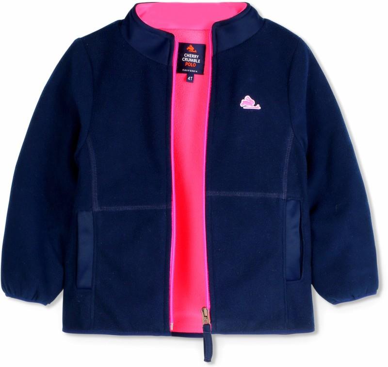 Cherry Crumble California Full Sleeve Solid Baby Boys & Baby Girls Jacket