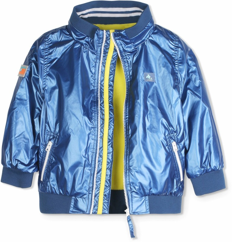 Cherry Crumble California Full Sleeve Solid Boys & Girls Jacket