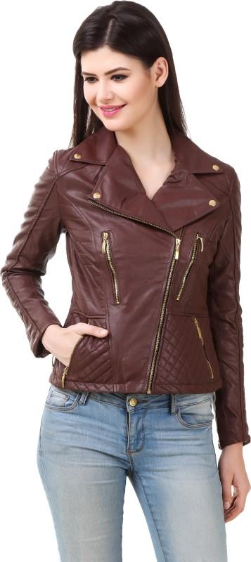 Rocker Fashions Full Sleeve Solid Women's Jacket