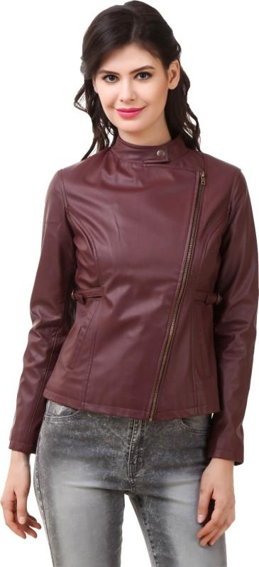 Rocker Fashions Full Sleeve Solid Women Jacket