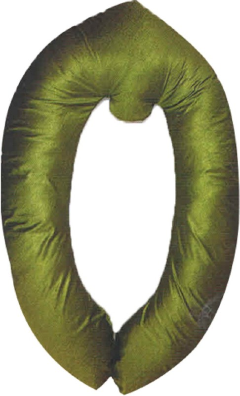 Comfort Pillow Foam Solid Pregnancy Pillow Pack of 1(Green)