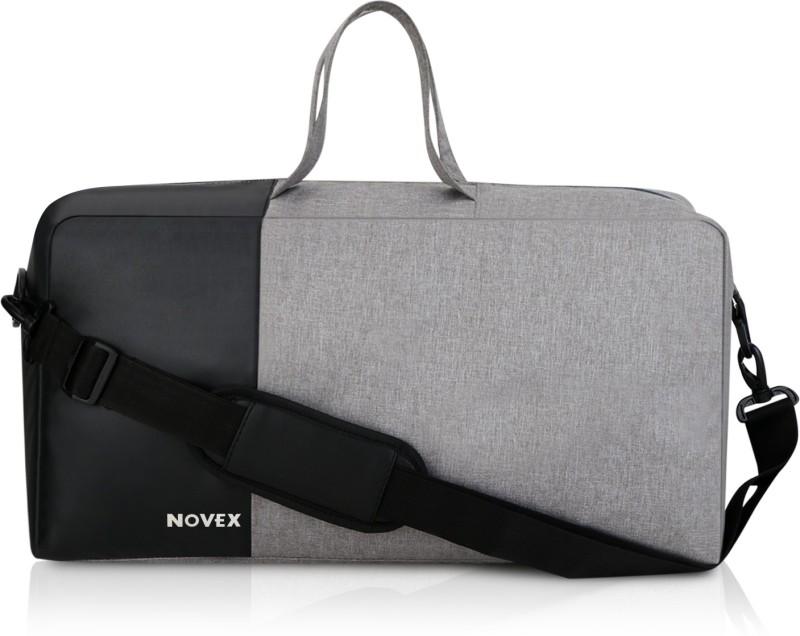 Novex Epoch Travel Duffel Bag(Grey, Black)