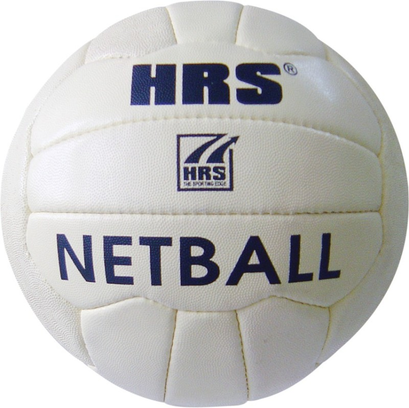 HRS Practice Netball - Size: 5(Pack of 1, White)