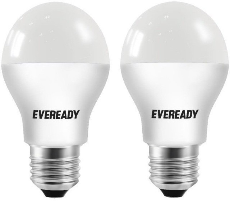 Eveready 5 W Standard E27 LED Bulb(Yellow, Pack of 2)