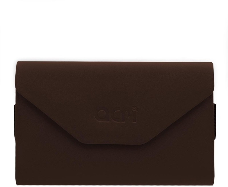 ACM Pouch for Lava X50 4g(Brown, Artificial Leather)