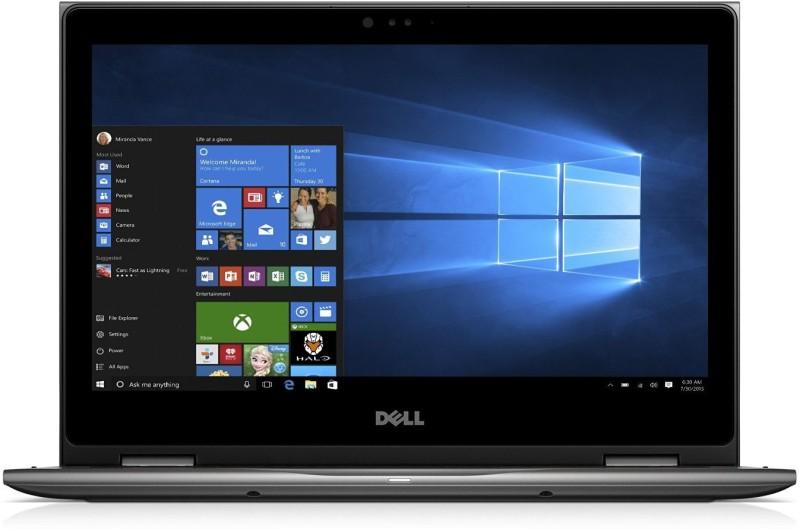 Dell 5000 Core i7 7th Gen - (8 GB/256 GB SSD/256 GB EMMC Storage/Windows 10) 5378 2 in 1 Laptop(13.3 inch, SIlver Greyish, 1.62 kg)