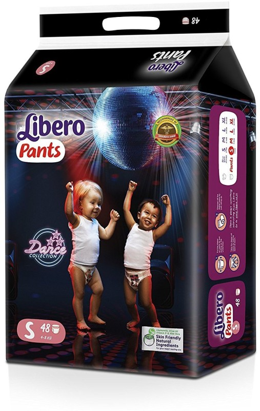 Libero Small Size Diaper Pants (48 Pieces) - S(48 Pieces)