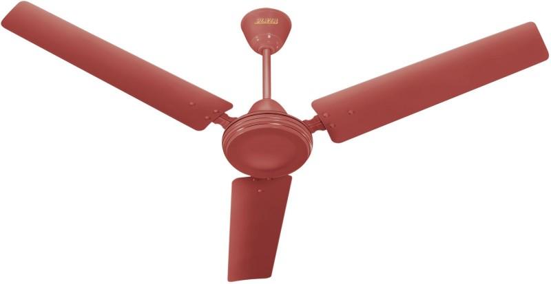 Plaza Wires Jet Kool 3 Blade Ceiling Fan(Brown)