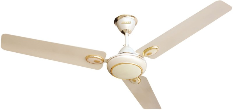 Plaza Wires BeautificA 50 3 Blade Ceiling Fan(Ivory)