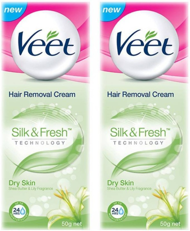 Veet Hair Removal Cream - Dry Skin(Pack of 2) Cream(100)