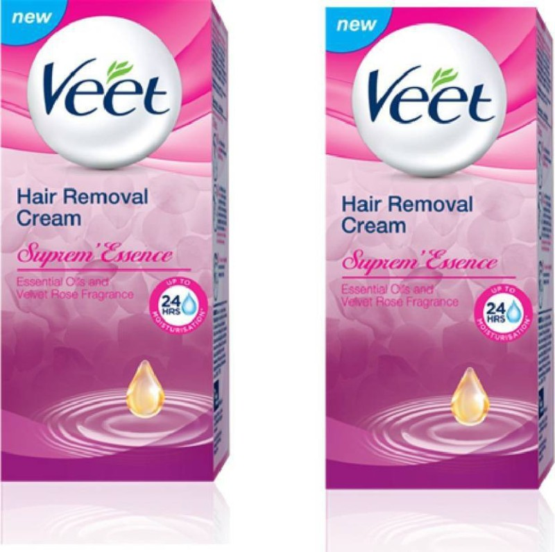 Veet Hair Removal Cream - Supreme Essence(Pack of 2) Cream(100)
