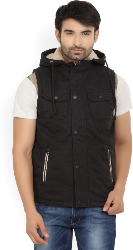 Pepe Jeans Sleeveless Solid Mens Jacket