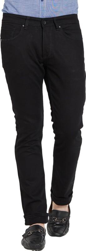 Spykar Slim Mens Black Jeans