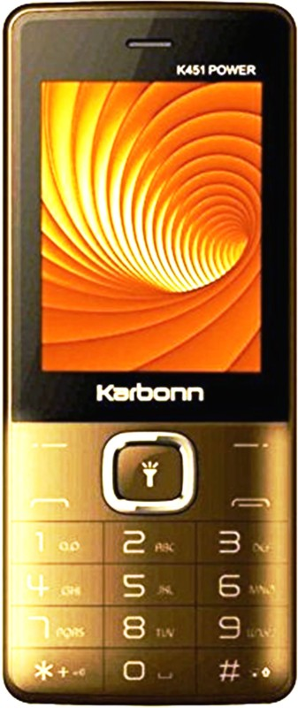 Karbonn K451 Power(Champagne & Black) image