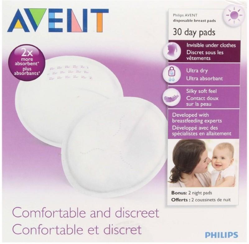 Philips Avent SCF254/30 Nursing Breast Pad(Pack of 30)