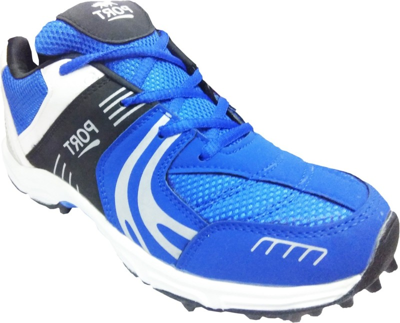 Port NeedSpeed Cricket Shoes For Men(Blue)