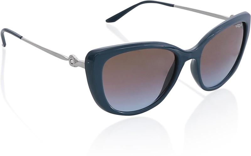 Vogue Cat-eye Sunglasses(Brown)