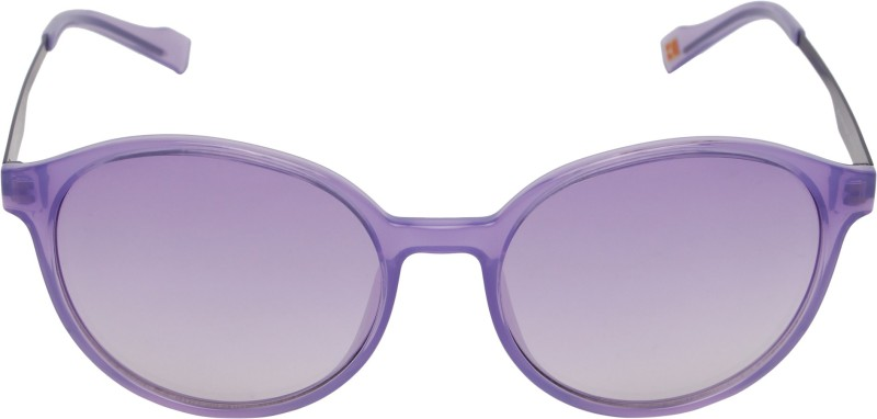 BOSS ORANGE Oval Sunglasses(Violet)
