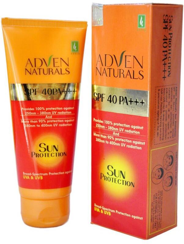 Adven Naturals Sun Protection - SPF 40 PA+++(400 ml)