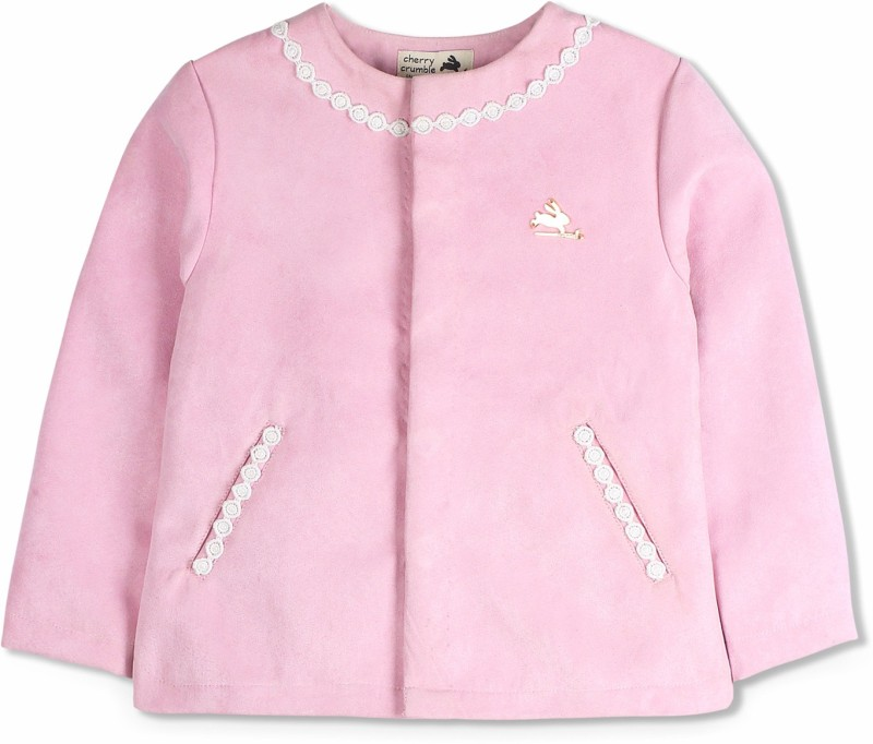 Cherry Crumble California Baby Girls Double Breasted Coat