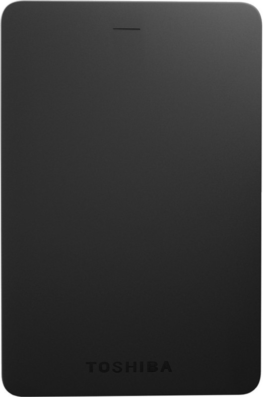 Toshiba Canvio Alumy 1 TB Wired External Hard Disk Drive(Black)