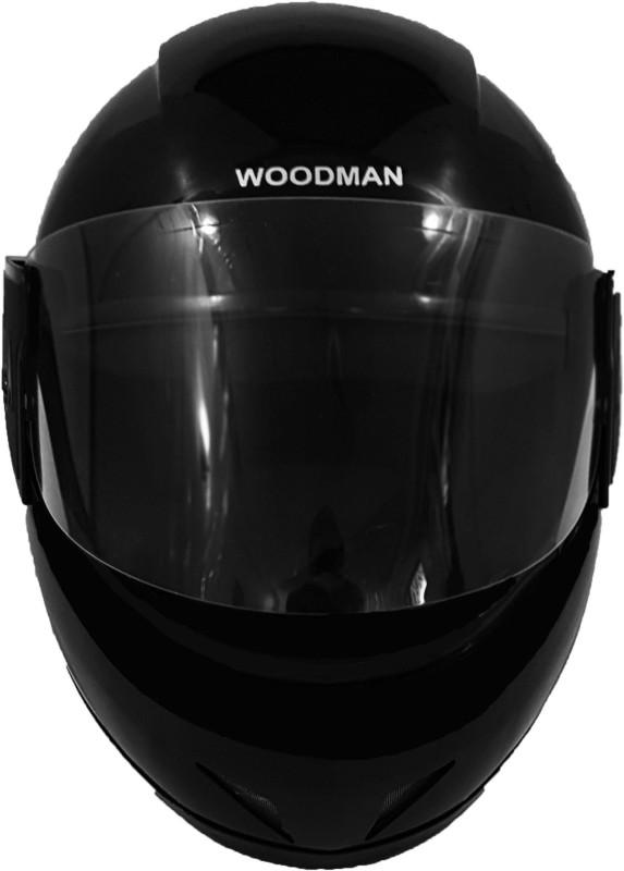 Woodman Nexa Motorbike Helmet(Black)