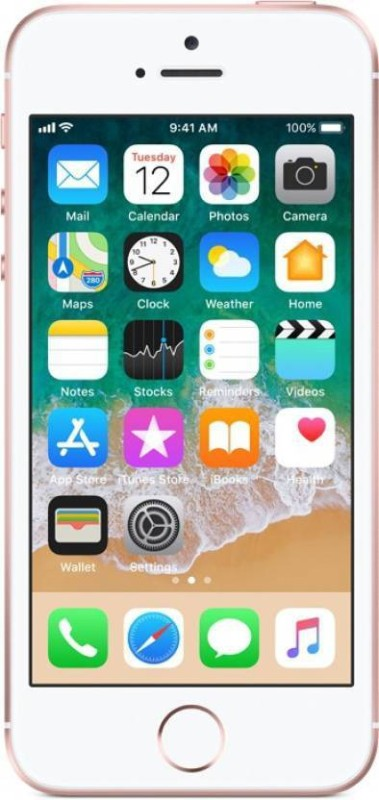 Apple iPhone SE (Rose Gold, 128 GB)