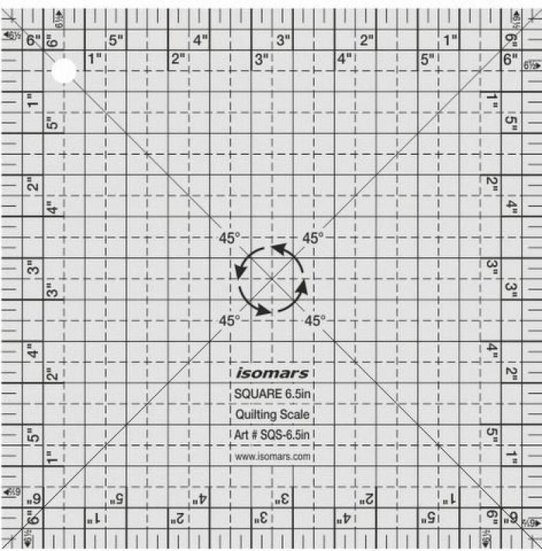 Isomars Square Scale - 6.5