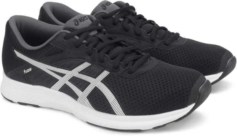 Asics fuzor Running Shoes For Men(Black)